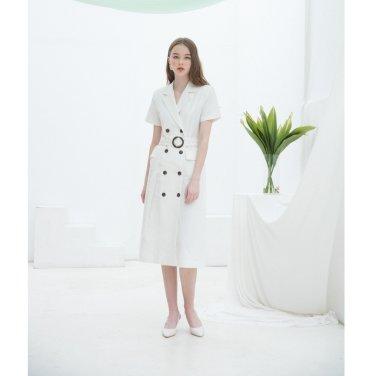 [클렛] Linen Long Jacket Dress 2종(19CLETSM14E)