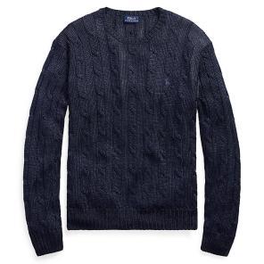 폴로 랄프 로렌 메탈릭 케이블 스웨터(WMPOSWEN6810254B82)