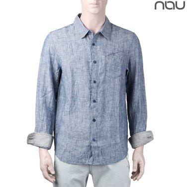 나우(nau) 케이드 여름 린넨소재 셔츠 1NUYSM8006M-LII
