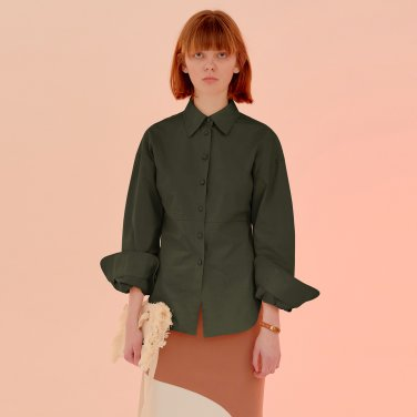 Mellow Line Shirt_Khaki (JC20SSSH03KH)