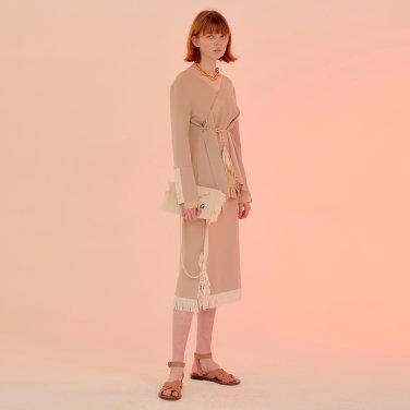 Arles Fringe Skirt_Butter Beige (JC20SSSK06BB)