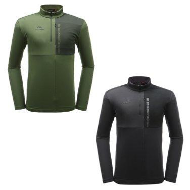 SRID (스리드) 남성 짚업 티셔츠 / 긴팔  DMU19207
