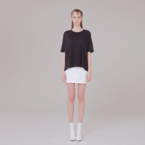 Detail T-shirt 002 Black
