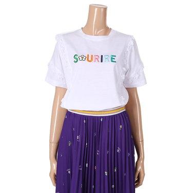 레이스 포인트 티셔츠(T183PWT603)