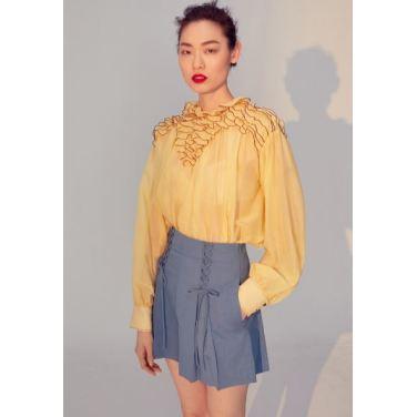 Delphine frill blouse(FA19MSBL002)