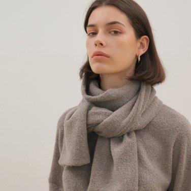 Muffler Knit Top - Khaki
