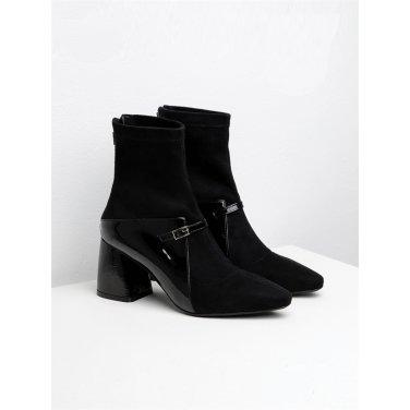 [수아베] Socks Ankle boots Bustier_SVDO1002_7Cm