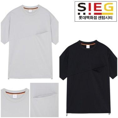 19 S/S 포켓 사선 절개 티셔츠 2종 ct3661