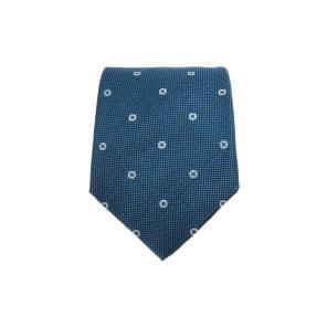 [2020 S/S 남자선물추천] 블루 자수장식 실크혼방 넥타이 MANE0E124B2