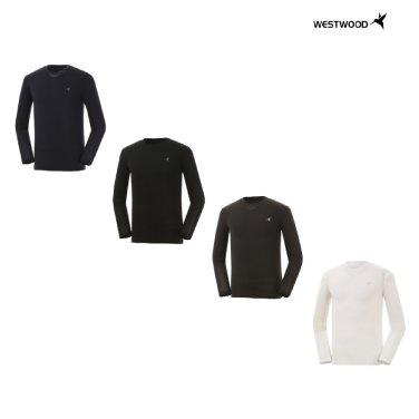 남성 긴팔 라운드 냉감 티셔츠 WZ0MCCT753