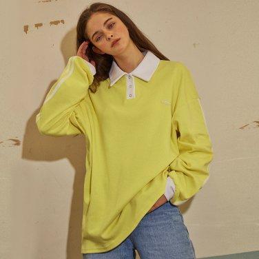 라인 포인트 럭비셔츠 옐로우(B1T03YE)