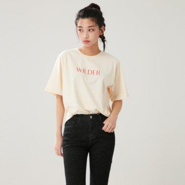 와일더 티셔츠 (AL1CT341)