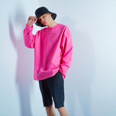 Pocket long sleeve 002 Pink