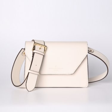 clover cross bag (cream) - D1006CR