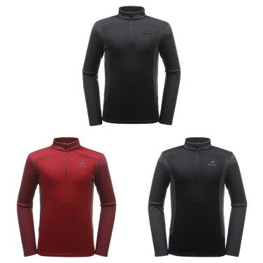 큐빗 남성 짚업 티셔츠 DMF19213