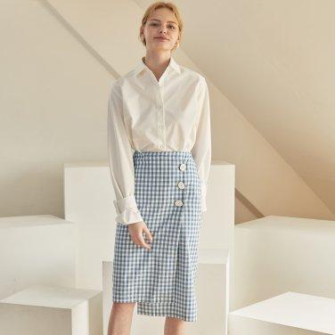 JE Asymmetry Wrap Skirt_SK