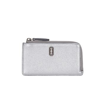 [vunque] Magpie Zipper Card Wallet (맥파이 지퍼 카드지갑) Silver VQB01CW2011