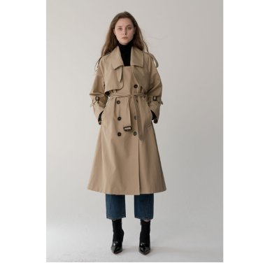 [바이리군[Oversize Trench Coat_CT010 (RIGOON2001E)
