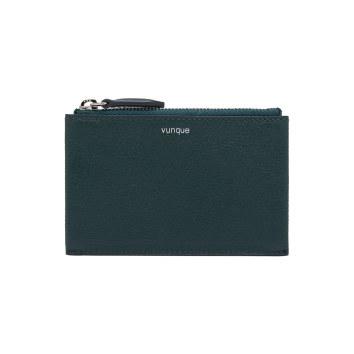 [vunque] Occam Zipper Card Wallet (오캄 지퍼 카드지갑) Dark green VQA91CW2031