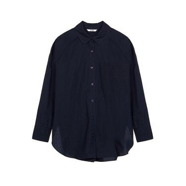 [리스트] 드롭 숄더 코튼 롱 셔츠 TWWSTJ70130