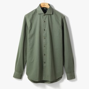 [ORIAN]VINTAGE CLASSIC SHIRT (SOLID) KHAKI/OR92M40001A23
