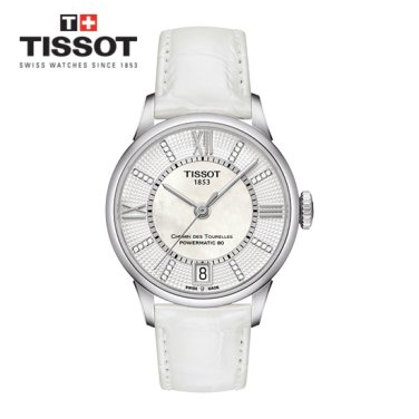 [티쏘] TISSOT CHEMIN DES TOURELLES POWERMATIC 80 LADY 여성시계 T099.207.16.116.00