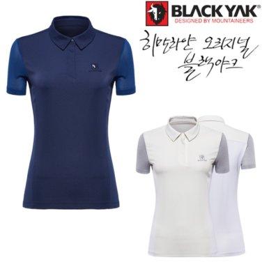 봄 여름 여성용 기능성 캐주얼 반팔 코너티셔츠S-2
