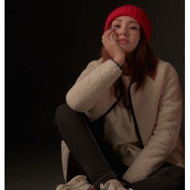 [소미 착용] 여성 쇼트 플리스 재킷 BO9939C01
