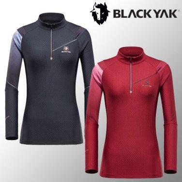 여성용 가을겨울 긴팔기능성티셔츠 M레인지티셔츠2
