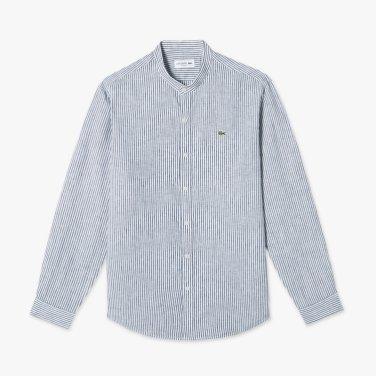 스트라이프 헨리넥 셔츠 (CH120E-19B)