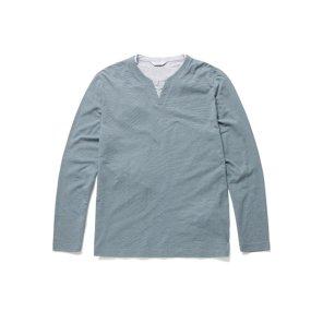 레이어드 슬릿 라운드 티셔츠 NEA1TR1903