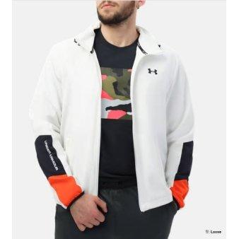 [언더아머] 남성 우븐 웜업 재킷