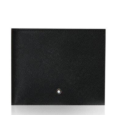 몽블랑 19SS 113215 사토리얼 6CC 반지갑 블랙