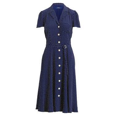 폴로 랄프 로렌 폴카도트 크레이프 드레스(WMPODRSNN810051B30)