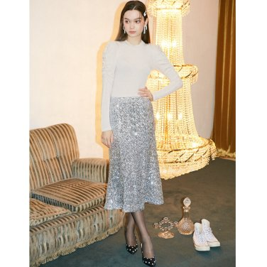 [살롱드욘]Spangle Mermaid Skirt 2종(19FW221E)