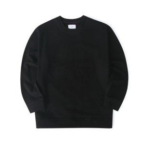 20S/S 오버핏 맨투맨 (블랙)