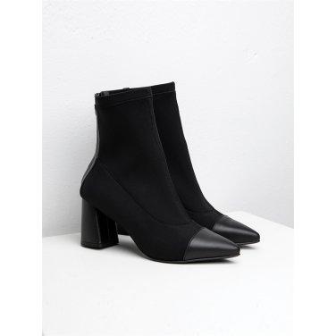 [수아베] Socks Ankle boots Stella_SVDO1000_7.5Cm
