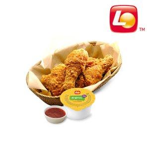 [롯데리아] 치킨하프팩
