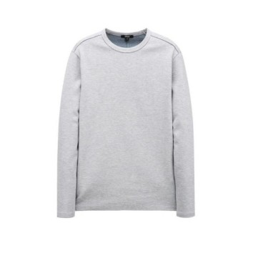 그레이 더블페이스 크루넥 티셔츠 (ARTS0A102G2)