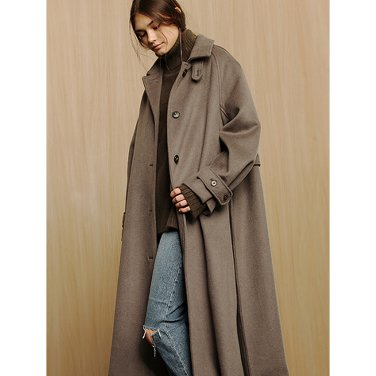 Alpaka Hairy Coat _ Khaki