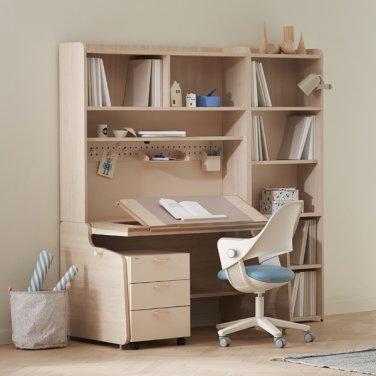 [SET] 일룸 링키 스마트책상 서랍형세트+시디즈 링고의자