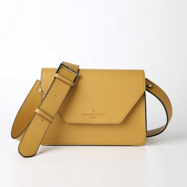 clover cross bag (mustard) - D1006MU