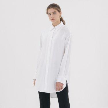 TencelLong Shirt - White