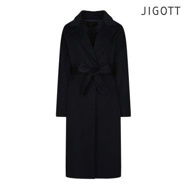 오버핏 핸드메이드 울 코트 JIBE0CT64