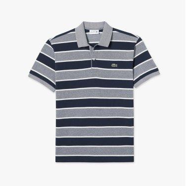 [엘롯데] 남성 캐비어 스트라이프 반팔 폴로 티셔츠 LCST PH424E-19BAZ7