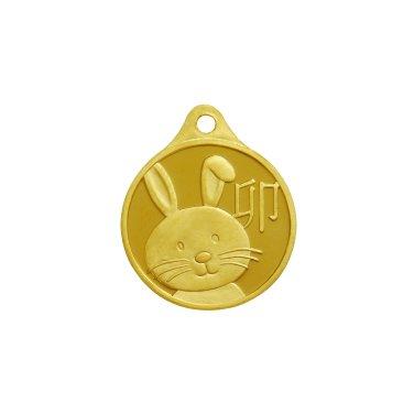 토끼띠 목걸이 메달 3.75g