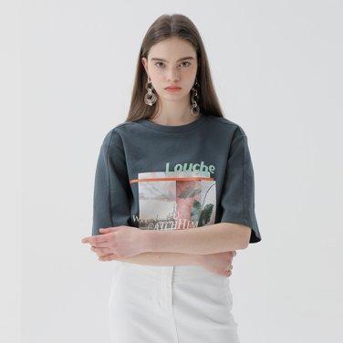 컬러풀 프린팅 티셔츠(NW9ME707)