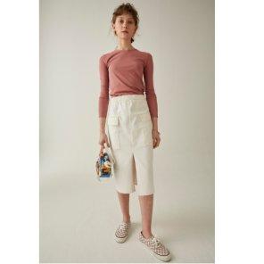 [테이즈] Pile Cotton Skirt (19STZ1E)
