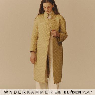 [분더캄머:WNDERKAMMER] Diamond Embroidery Jumper_Yellow (WK9F0-DEJP030)