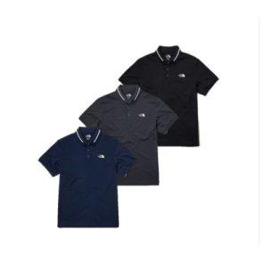 남성 카라 반팔 티셔츠 컴포트 릴리즈 폴로 티셔츠 NT7PL03